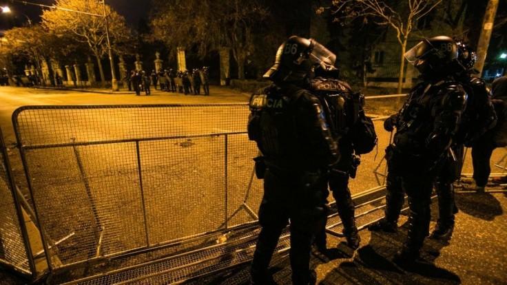 Minister poďakoval policajtom. Ocenil, že sa nedali vyprovokovať