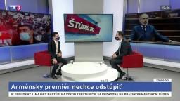 ŠTÚDIO TA3: Armén žijúci na Slovensku G. Ayrumyan o arménskom premiérovi
