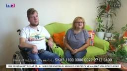 Rodičov Viktora môže odbremeniť zdvíhacie zariadenie. Pomôžte im s Nadáciou TA3