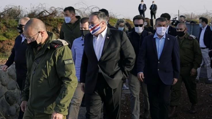 Pompeo navštívil Golanské výšiny. Provokatívne, reaguje Sýria