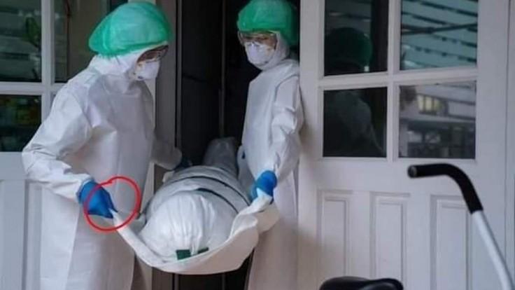 Fotografia má dokazovať, že pandémia je podvod. Aká je pravda?