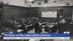 Verdikty padli pred 75 rokmi. Pripomenuli si Norimberský proces