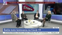 Špeciálne Štúdio TA3 o štvrtom kole testovania na Slovensku