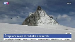 Švajčiarske strediská nezavreli, vítajú turistov aj zo zahraničia