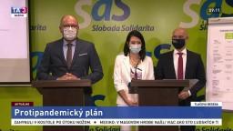 TB predstaviteľov strany SaS o ich protipandemickom pláne