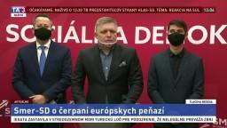 TB strany Smer-SD o čerpaní európskych peňazí v čase pandémie