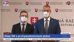TB predstaviteľov Hlasu-SD o protipandemickom pláne R. Sulíka