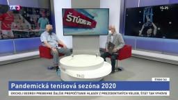 ŠTÚDIO TA3: Tenisový expert J. Kukal o sezóne 2020