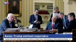 Trump chce omilostiť exporadcu, ktorý klamal vyšetrovateľom