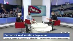 ŠTÚDIO TA3: J. Barmoš a M. Michalech o Diegovi Maradonovi