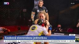 Šampiónka Oktagon výzvy. Szabová je slovenskou jednotkou MMA