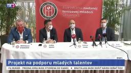 Hrajme tenis Slovensko. Vznikol projekt na podporu mladých talentov