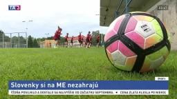 Futbalistky prehrali s favorizovaným Islandom, na ME si nezahrajú