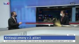 HOSŤ V ŠTÚDIU: Predseda ADSS M. Kotov o zmenách v druhom pilieri