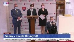 TB predstaviteľov strany OĽANO o zmenách v novele Ústavy SR
