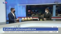 HOSŤ V ŠTÚDIU: Predseda SPPK E. Macho o situácii v poľnohospodárstve