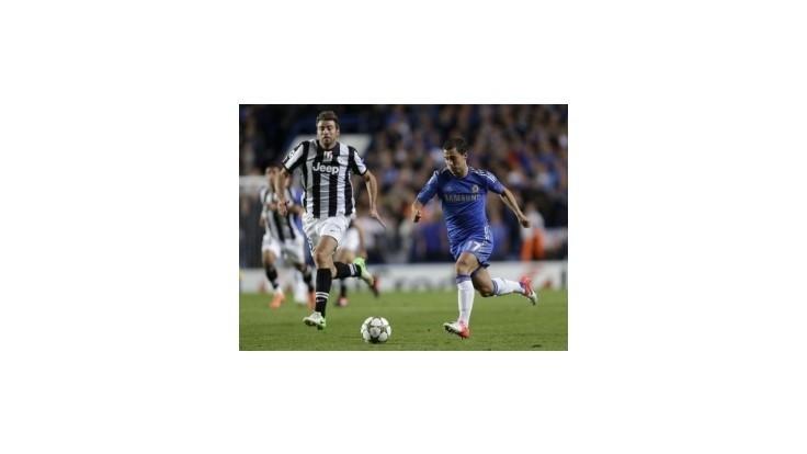 Chelsea v šlágri remizovala s Juventusom, Barcelona otáčala skóre