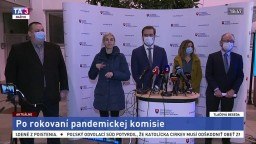 TB ministra M. Krajčího po zasadnutí pandemickej komisie