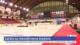Bystrický zimný štadión opravia, podľa klubu hrozí zánik hokeja
