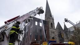 Nešťastie v New Yorku. Vzácnu historickú stavbu zachvátil oheň