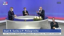 Premiér je vzťahovačný, vzťahy nie sú dobré, priznal v TA3 Sulík