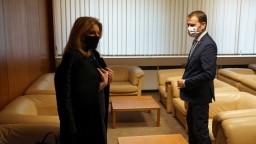 Matovič by mal zvážiť manažovanie pandémie, myslí si prezidentka