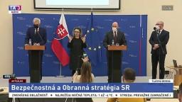 TB I. Korčoka a J. Naďa o bezpečnostnej a obrannej stratégii SR