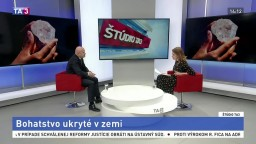ŠTÚDIO TA3: Profesor M. Cehlár o surovinovej stratégii EÚ