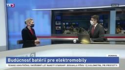 HOSŤ V ŠTÚDIU: J. Oršuliaková o budúcnosti batérií pre elektromobily
