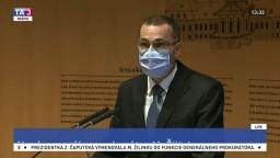 Brífing M. Žilinku po vymenovaní za generálneho prokurátora