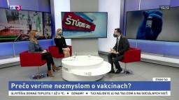 ŠTÚDIO TA3: M. Sawiris a D. Hajdu z Globsecu o nezmysloch okolo vakcín