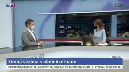 HOSŤ V ŠTÚDIU: Minister dopravy A. Doležal o obmedzenej zimnej sezóne