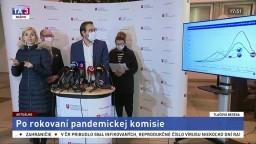 TB M. Krajčího a členov pandemickej komisie po rokovaní
