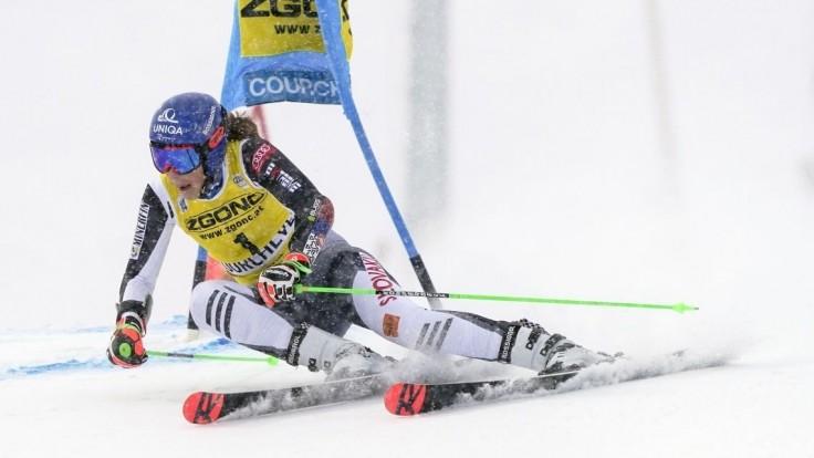 Vlhová neudržala náskok, v obrovskom slalome skončila tretia