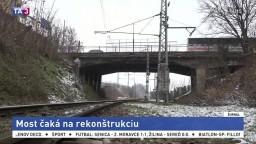 Na opravu mosta čakajú takmer desaťročie, je v havarijnom stave