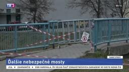 Na Spiši zabránili nebezpečenstvu, mostík včas uzavreli