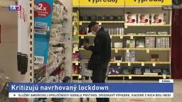 Hrozia štátu žaloby? Obchodníci kritizujú plánovaný lockdown