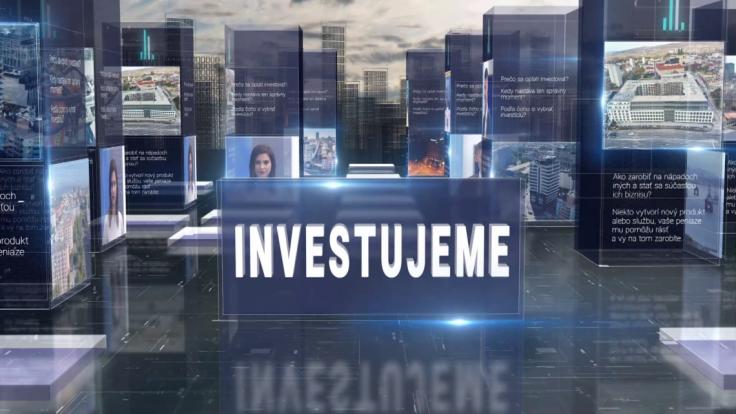 Televízia TA3 prichádza s novým formátom – Investujeme