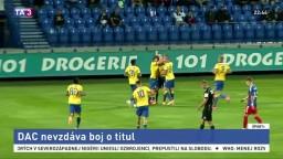 Po jesennej časti je najspokojnejší Slovan, DAC pokazil záver