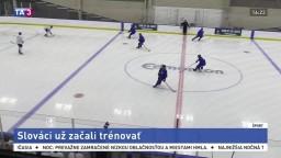 Hokejová dvadsiatka pokračuje v príprave po päťdňovej karanténe