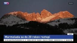 Obrovský taliansky ľadovec sa čoskoro rozpustí, ukazuje štúdia