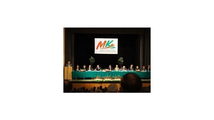 Strana SMK si schválila nový názov - Strana maďarskej komunity