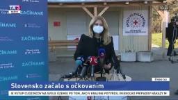Vyjadrenie prezidentky Z. Čaputovej po zaočkovaní proti koronavírusu