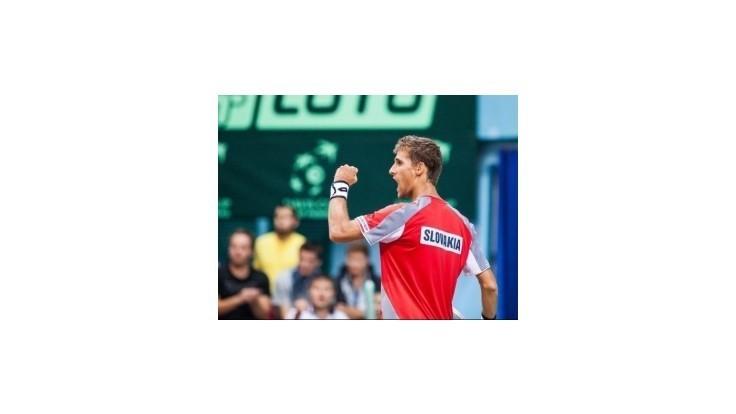 Kližan po výhre nad Južným postúpil do finále turnaja ATP v Petrohrade