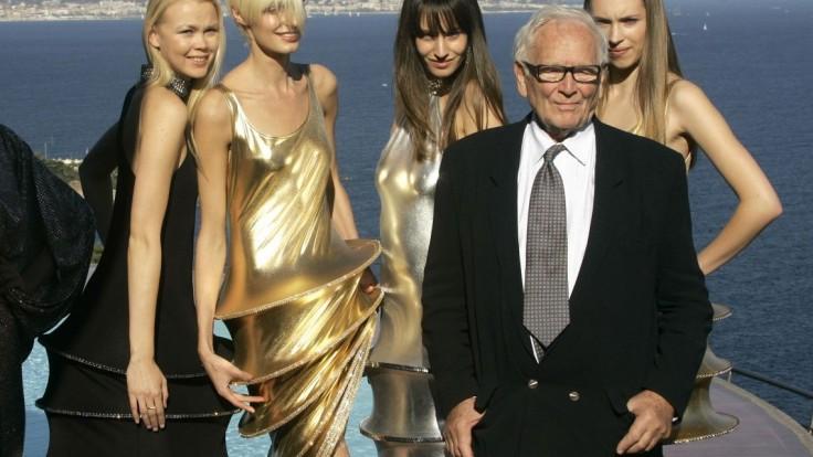 Zomrela legenda sveta módy, návrhár Pierre Cardin