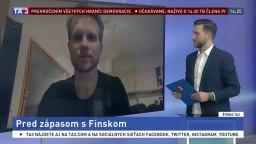 ŠTÚDIO TA3: Hokejista M. Krištof o zápase s Fínskom