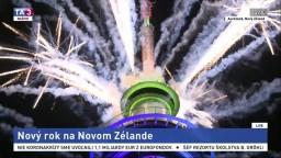 Na Novom Zélande privítali rok 2021