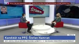 ŠTÚDIO TA3: Š. Hamran o kandidatúre na post policajného prezidenta