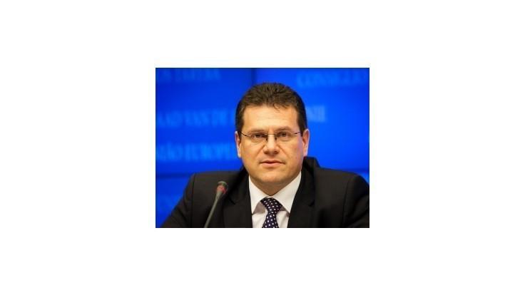 Šefčovič: Svoju suverenitu v prípade vzniku federácie nestratíme