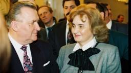 Zomrela Emília Kováčová, bývalá prvá dáma Slovenska